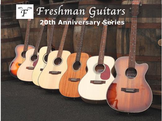 Freshman Guitars 20th Anniversary Series