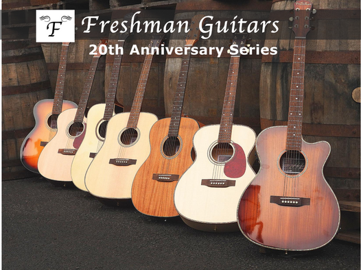 Freshman Guitars 20th Anniversary Series