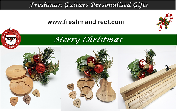 Freshman Guitars Personalised Gifts