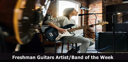 Freshman Guitars Artist/Band of the Week
