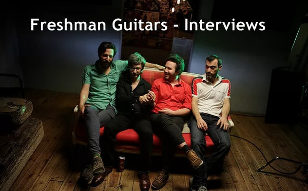 Freshman Guitars Interviews