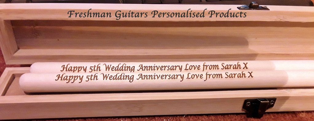 Freshman Guitars Personalised Products