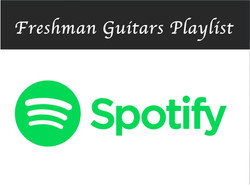 Freshman Guitars Playlist