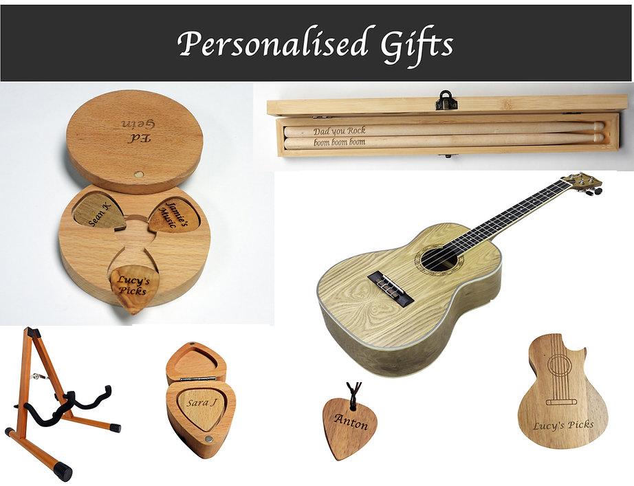 Freshman Guitars personalised gifts