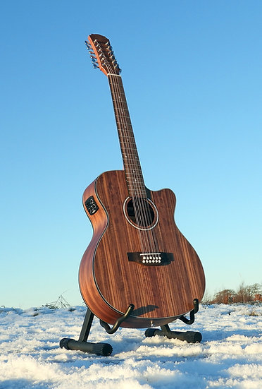 FALTDWALOC12 - 12 String Right Handed Walnut Electro-Acoustic