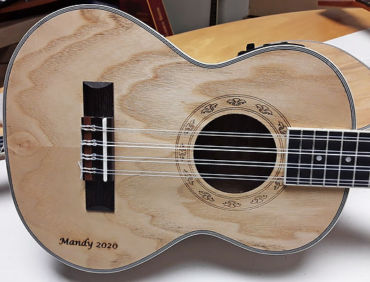 Freshman Guitars Personalised Ukulele