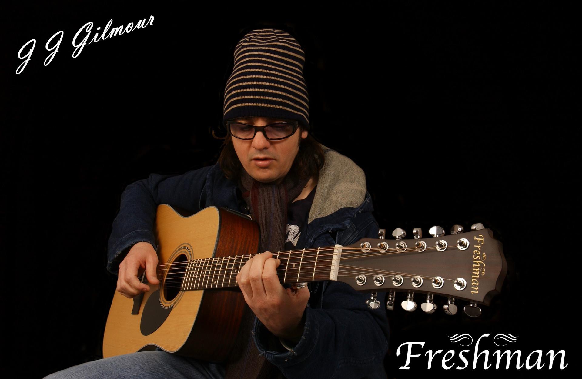 Freshman Guitars JJ Gilmour Interview