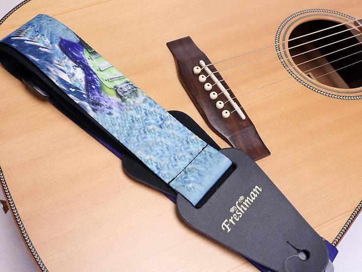 FSWGUITAR Raining Guitars Strap