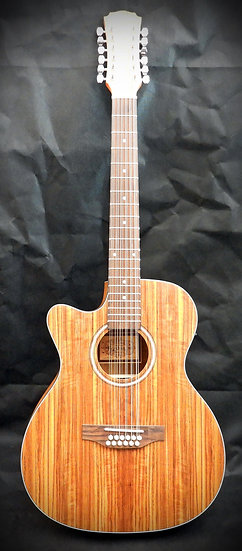 FALTDWALOC12LH - 12 string left handed Walnut Electro-Acoustic