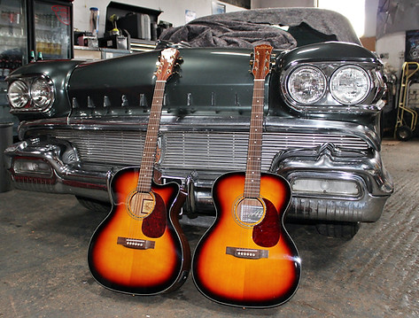 Freshman Guitars Sunbursts