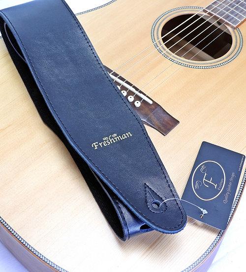 FSSLBK-85 High Grade Black Leather Strap