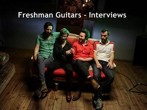 Freshman Guitars Interviews