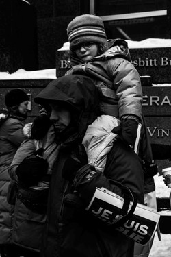 Silent march - 11/01/14 Montreal