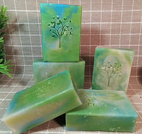 Natural Cold Process Soap, Jabón a base de té de romero