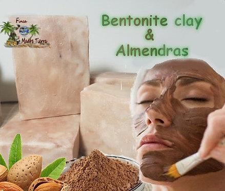 #1 Carbon Activado  #2 Almendra & Bentonite clay