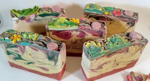 Natural Cold Process Soap, Lavanda/Romero  Bar of Soap.