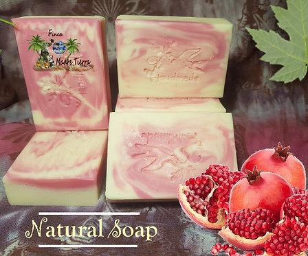 # 1 Natural Cold Process Soap Pomegranate  # 2 Melon Mist