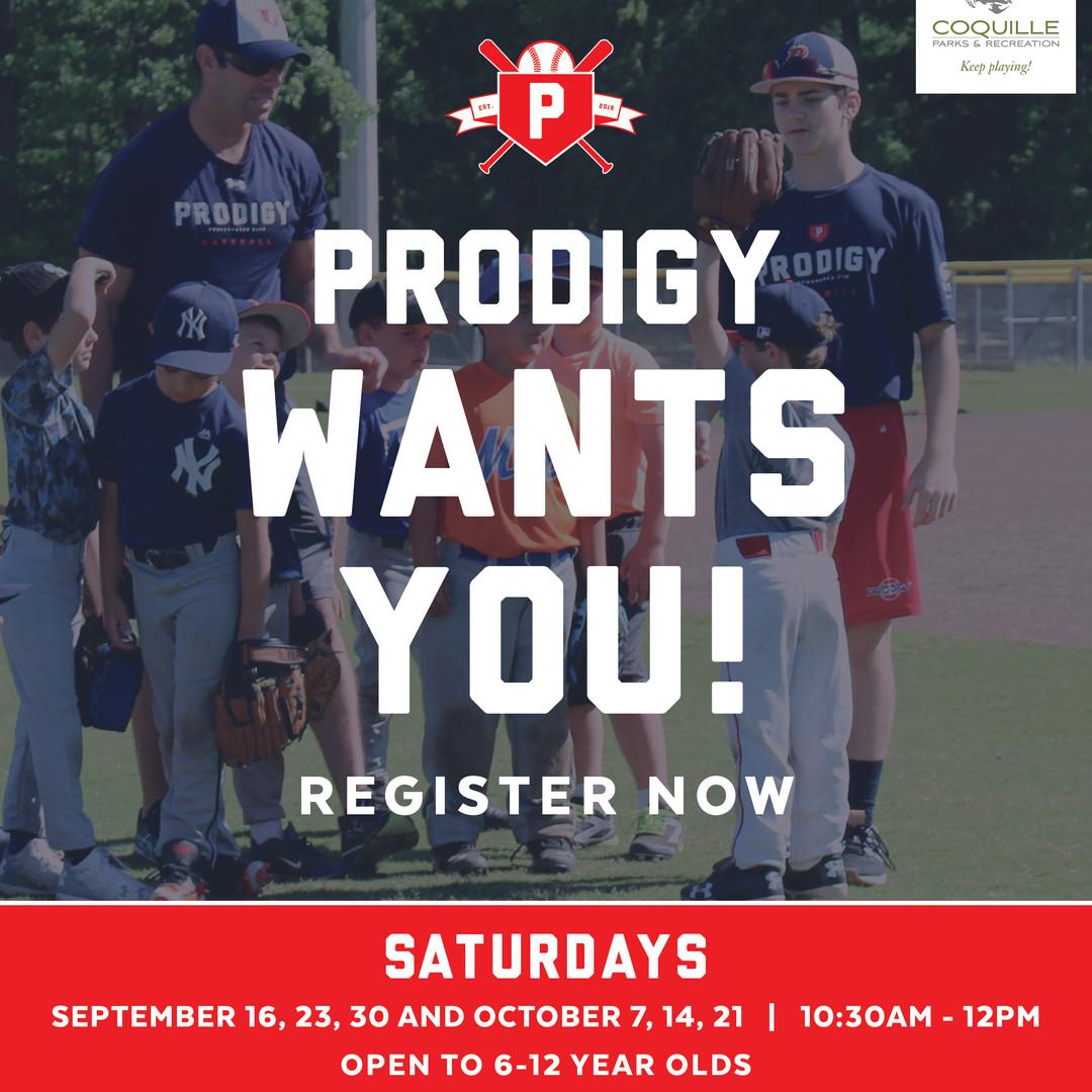 Join Saturday Program Facbook - Prodigy