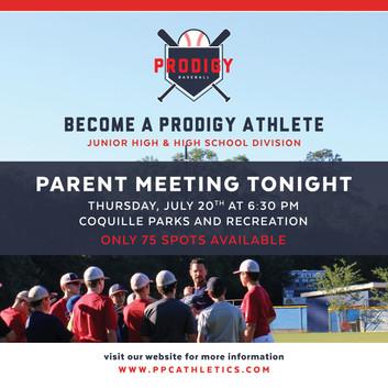 Fall Registration - Parent Meeting - re.