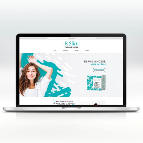 Site Web B.Slim