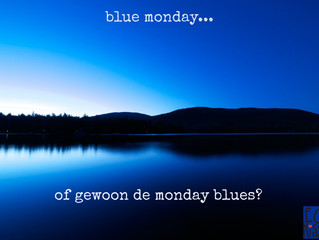 5 tips om Blue Monday te overleven