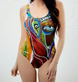 One-Piece Swimsuit POPART