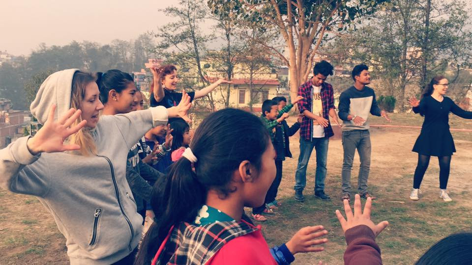 Doing a workshop in Nepal 2017
