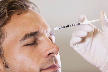 Botox for men, Ealing Broadway, London, UK