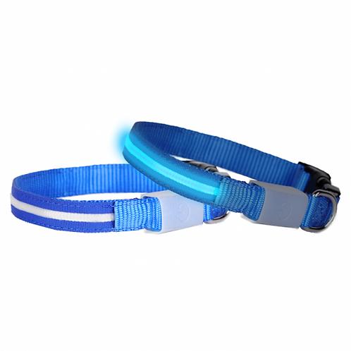 DOGlite LED Collar X-Small (24-36cm) Blue Moon