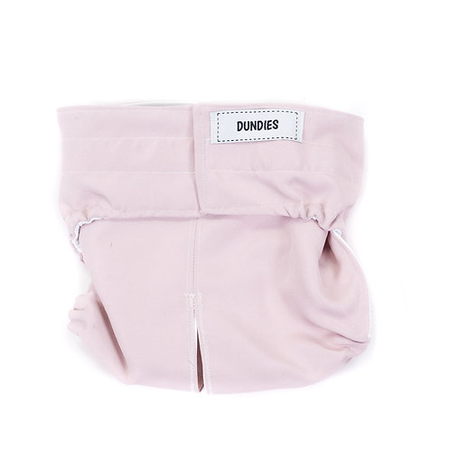 Dundies Snappie-Dusty Pink (1 Shell & 1 Insert)