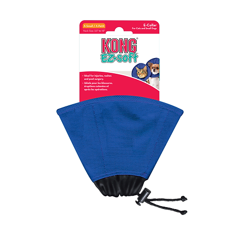 KONG E Collar: EZ Soft (2 sizes)