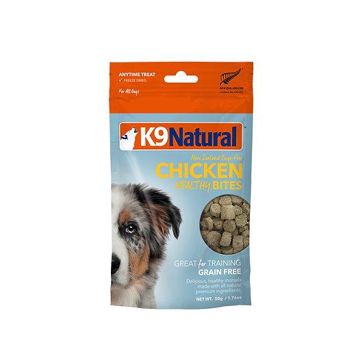 K9 Natural Healthy Bites - Chicken 50g