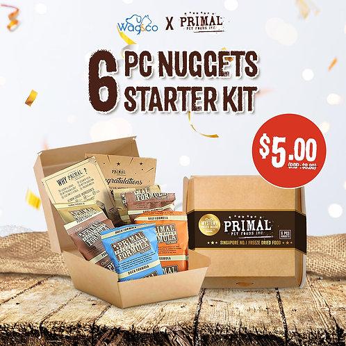 Wag&Co x Primal 6pcs Nuggets Starter Kit