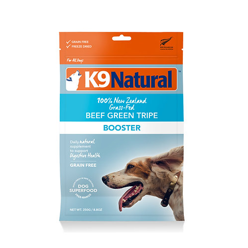 K9 Natural Freeze Dried - Beef Green Tripe Booster 250g