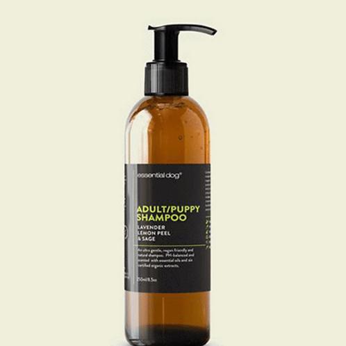 Essential Dog Shampoo: Lavender, Lemon Peel and Clary Sage (2 sizes)