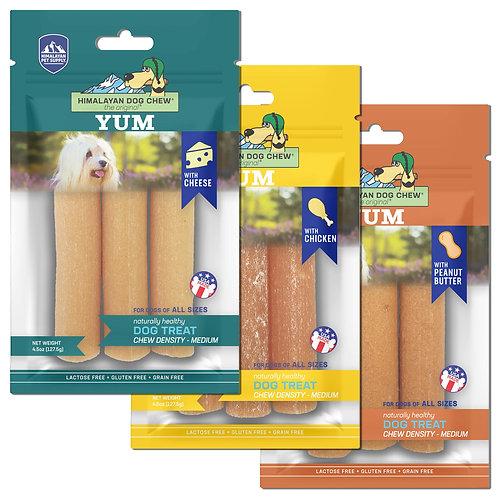Himalayan Pet Supply Yum Dog Chew Medium Density Treats