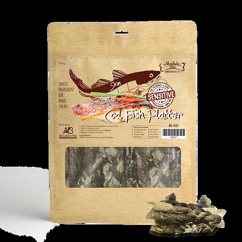 Absolute Bites Air Dried - Cod Fish 400g