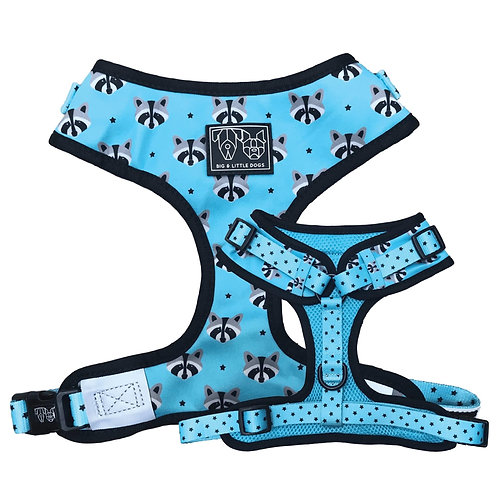 Big & Little Dogs Adjustable Harness-Trash Panda