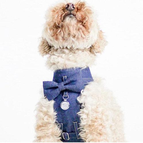 Dharf Dog Harness-Denim