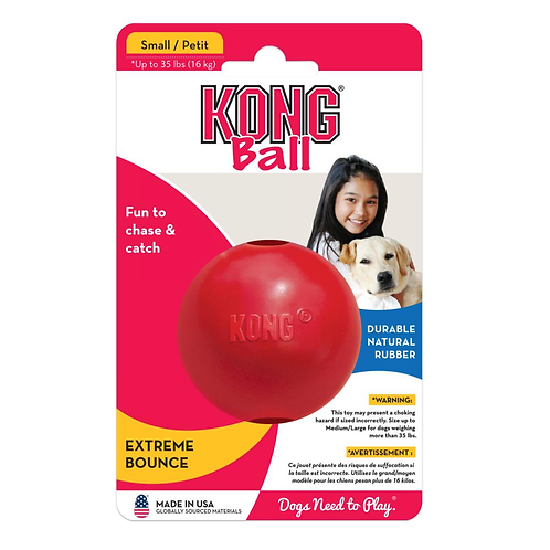 KONG® Ball with Hole (2 sizes)