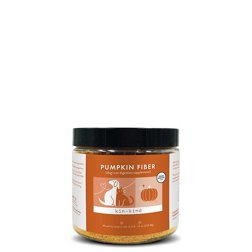 kin+kind Pumpkin Fiber Boost (Stomach & Bowel Support for Dogs & Cats)