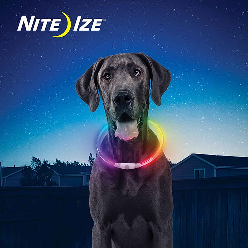NiteHowl Disc-O Select Rechargeable LED Safety Necklace