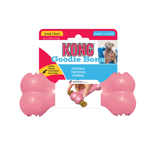 KONG® Puppy Goodie Bone™ S size only (2 colours)