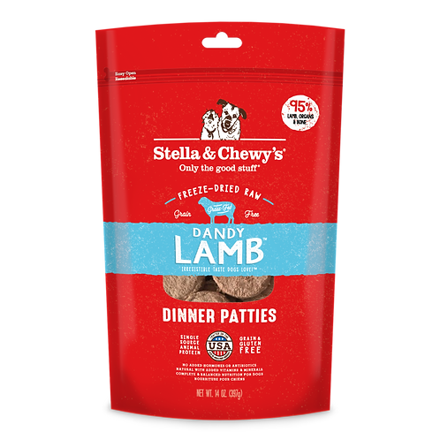 Stella & Chewy's Dinner Patties (25oz) - Dandy Lamb