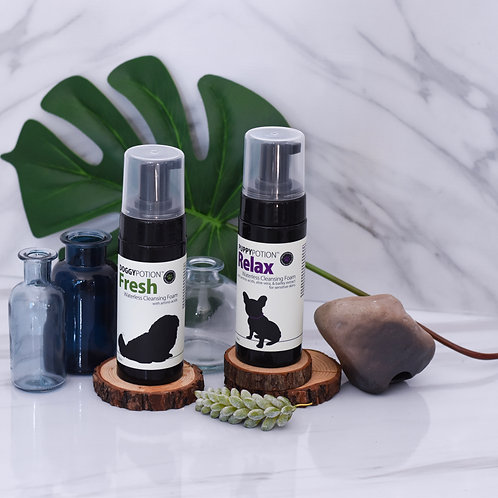 Doggypotion: Waterless Cleansing 150ml (Fresh/Relax)