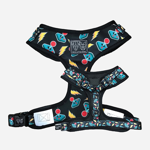 Big & Little Dogs Adjustable Harness-Game On
