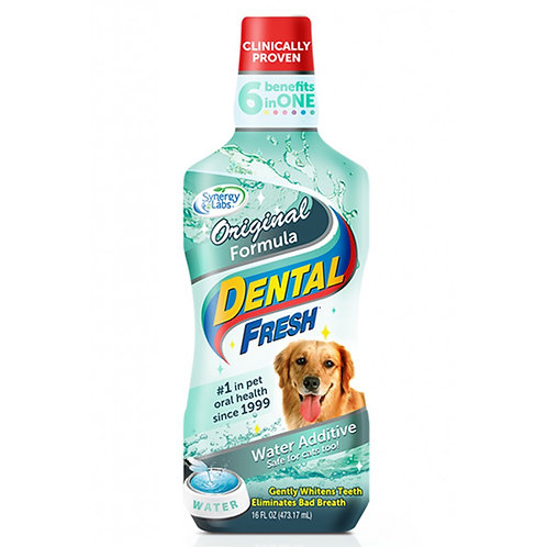 Dental Fresh Water Addictive for Dogs & Cats 17oz