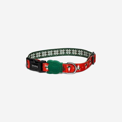 Zee.Dog Collar-Rudolph