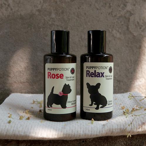 Doggypotion: Milk Bath 140ml (Rose/Relax)