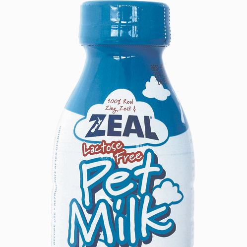 Zeal Lactose-Free Pet Milk For Cats & Dogs 380ml